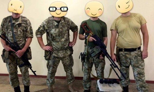 Звіт від окремого загону при Херсонському прикордонному загоні по отриманню 5 ручок переносу вогню для кулемету ПК.