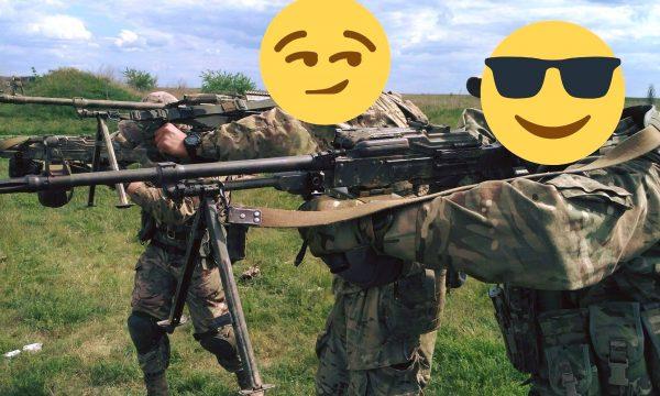 Звіт від 2 загону 3-го полку ССО по отриманню 6 ручок переносу вогню для кулемету ПК.