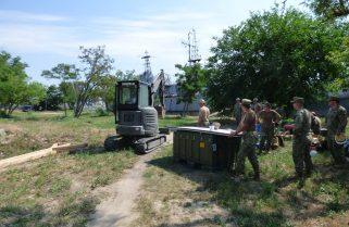 На Миколаївщині партнерами зі США розпочато будівництво морського операційного центру