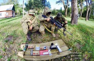 ЗВІТ від Мілітарної допомоги по отриманню підрозділом снайперської гвинтівки Savage 110