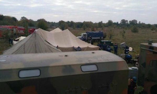 Диверсія у Калинівці: доповідь штабу ДСНС