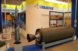 З'явились фотографії пускової установки оперативно-тактичного ракетного комплексу «Грім»