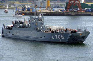 """Десантний корабель L765 """"Schlei"""" ВМС Німеччини замість ремонту будуть списувати"""