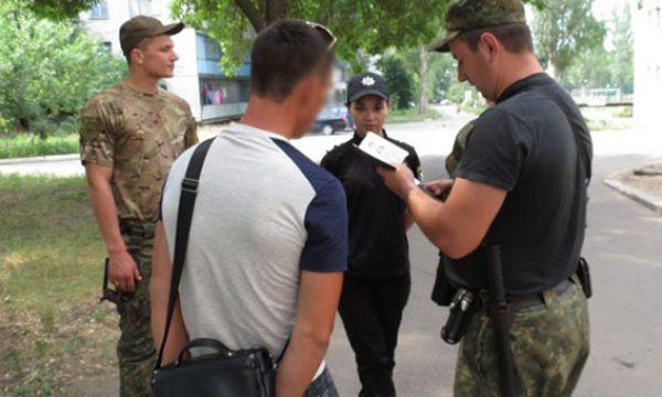 У Дружківці наряд Нацполіції затримав бойовика російсько-терористичних військ