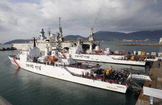 Берегова охорона Бангладеш отримала два патрульні кораблі зі складу ВМС Італії
