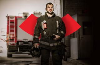 МВС запустило сайт, що роз'яснює роботу добровольця-вогнеборця