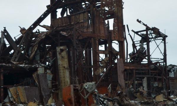 Російсько-терористичні війська продовжують знищувати промислові об'єкти Донбасу