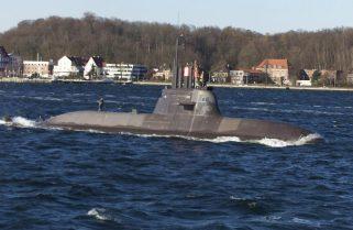 """Підводний човен """"U 31"""" типу 212A ВМС Німеччини вийшов у море після 3-х років ремонту"""