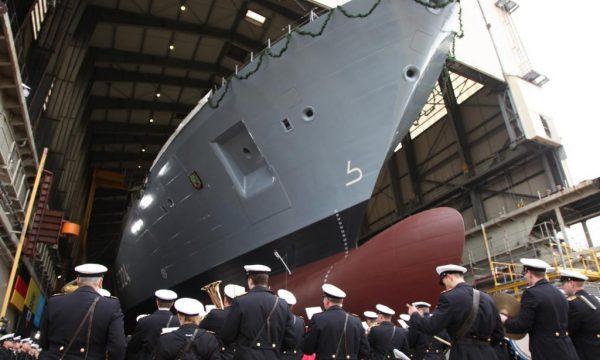 На воду спущений четвертий фрегат типу F125 для ВМС Німеччини