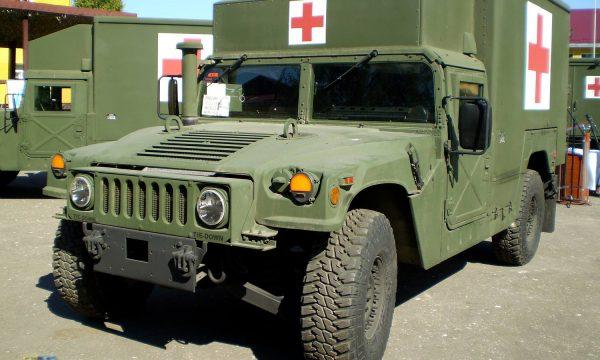 До України найближчим часом прибудуть 40 медичних HMMWV для потреб ЗСУ