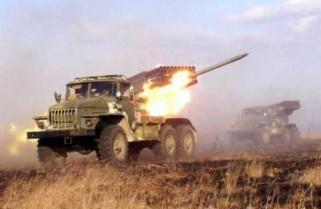 """122 мм реактивна система залпового вогню БМ-21 """"Град"""""""