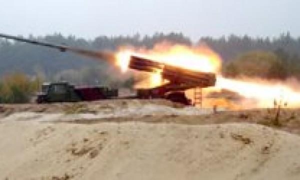 """220 мм реактивна система залпового вогню БМ-27 """"Ураган"""""""