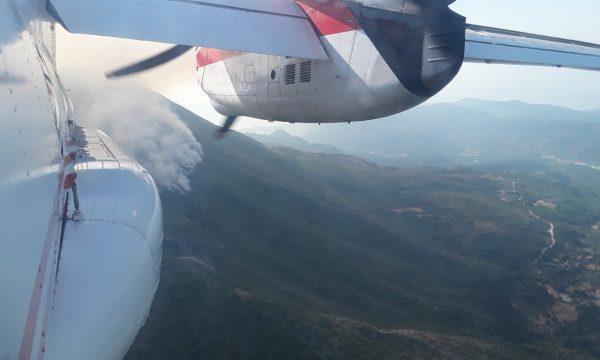 Авіація ДСНС України продовжує надавати допомогу Чорногорії у гасінні масштабних лісових пожеж
