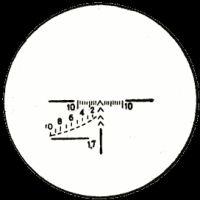 Сітка прицілювання ПСО-1